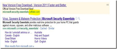 MIcrosoftSecurityEssentials-BeWarned