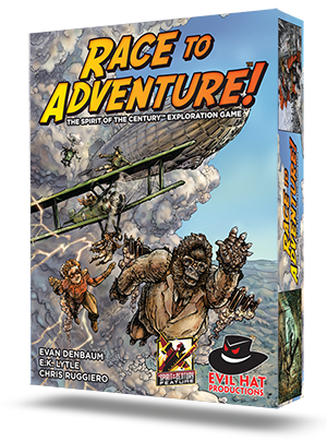 Cover Art Race To Adventure